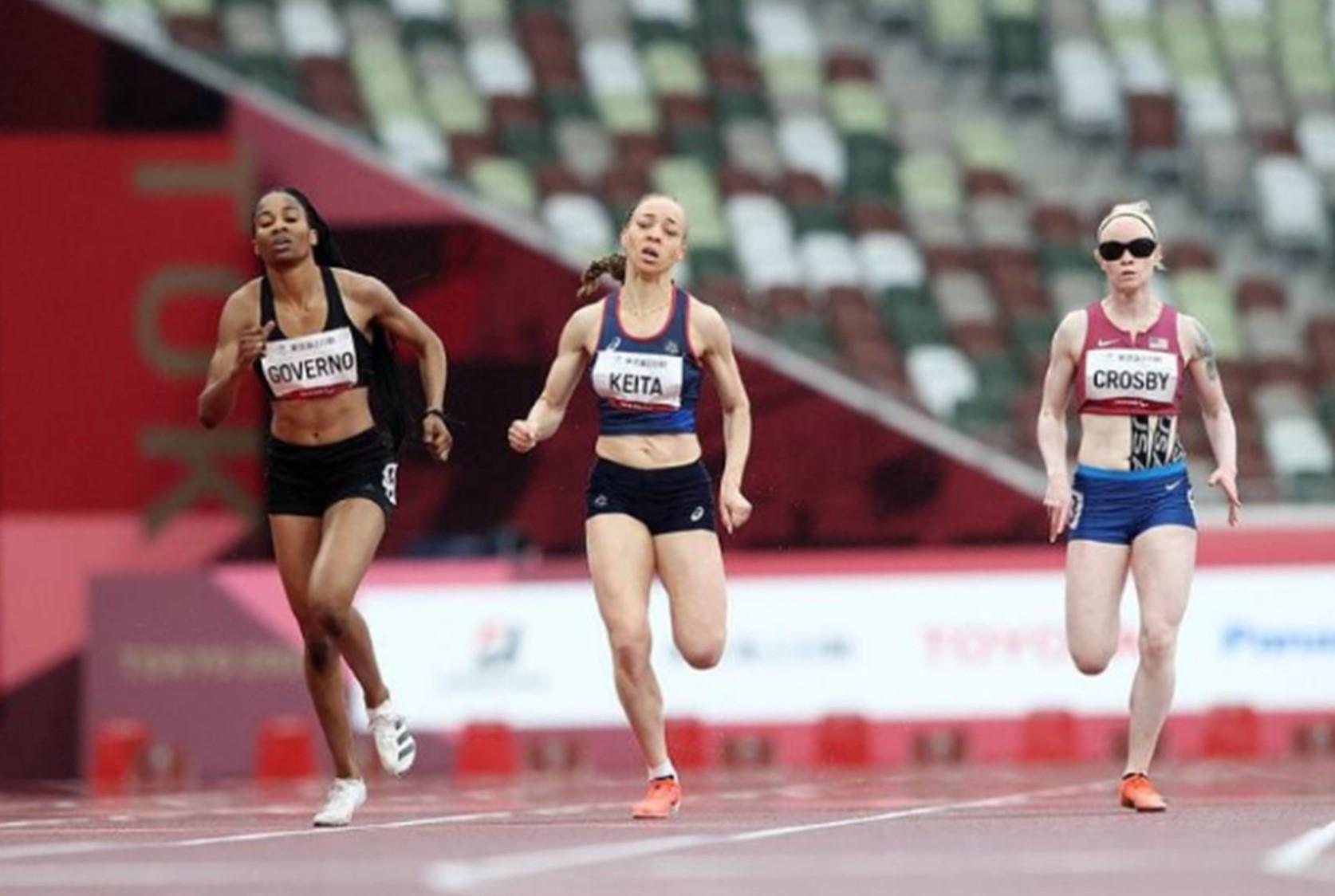 Jeux paralympiques de Tokyo 2020 - Nantenin au pied du podium